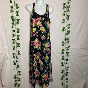 MAGAZINE Floral Sleeveless Maxi Dress